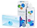Kontaktlinser - FREQUENCY XC (6linser) +Gelonelinsevæske 360ml