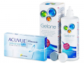 Kontaktlinser - Acuvue Advance PLUS (6linser) +Gelonelinsevæske 360ml
