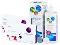 Kontaktlinser - Avaira (2x3 linser) +Gelonelinsevæske 360ml