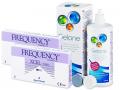 Kontaktlinser - FREQUENCY XCEL Toric  XR (2x3 linser) +Gelonelinsevæske 360ml