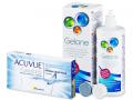 Kontaktlinser - Acuvue Oasys for Astigmatisme (6linser) +Gelonelinsevæske 360ml