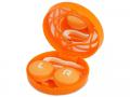 Linseetui med speil - Linseetui med speil - Orange ornament