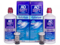 Contact lens solution AO SEPT plus - AO SEPT PLUS HydraGlyde 2x360 ml Linsevæske