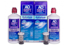 AO SEPT PLUS HydraGlyde 2x360 ml Linsevæske