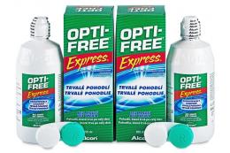 OPTI-Free Express linsevæske 2x355ml